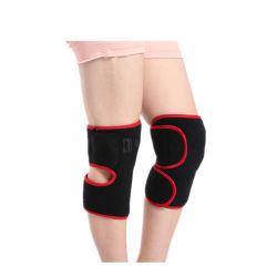 Neues Produkt-erhitzte Knie-Auflage-kundenspezifische magische mehrfachverwendbare Wärmer Soem-Heizungs-Knie-Auflagen für Großverkauf