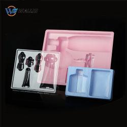 Espessura personalizados reciclados de PET transparente de Plástico Rígido para Imprimir Caixa de cosméticos de dobragem