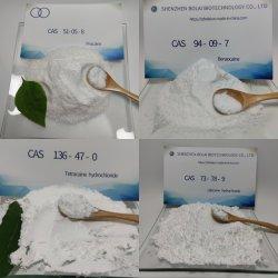 Китай производители питания высокого качества и высокой степенью чистоты 99%+ Tetracaine /базы Tetracaine /лидокаина /Procaine гидрохлорида/ Benzocaine