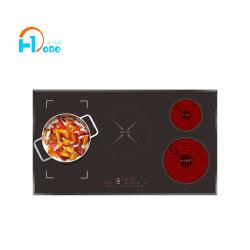 H-Um queimador 5 fogões híbrido com protecção Dry-Burning