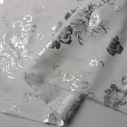 L'estampage et impression d'or en mousseline Tissu pour afficher
