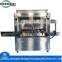 Máquina de llenado automático de botellas de aceite máquina de llenado lineal para aceitunas Aceite