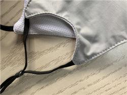 Lavable en nano-argent masque masque réutilisables de fibre