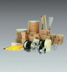 Los consumibles de soldadura, electrodos, sólido núcleo fundente de cables, alambres, varillas TIG