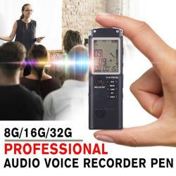 T60 Pen USB van de Opname van de Telefoon van 8g/16g/32g de Mini de Professionele Dictafoon van 96 Uren het Digitale AudioRegistreertoestel van de Stem met Wav, MP3 Speler