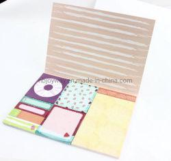 Настраиваемые канцелярские подарок для продвижения бумаги прекрасный клей записку