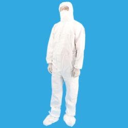 Custom Coverall civile jetables haute qualité adaptées à la pollution chimique de l'exposition de la sécurité Anti Virus Vêtements vêtement Vêtements de protection