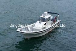 زورق صيد الأسماك Fiberglass 10 ركاب السرعة زوارق بخارية بطول 11 م/35 قدمًا بانجا
