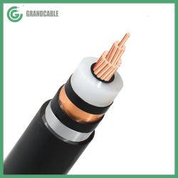 1X185мм2 медный проводник XLPE изоляцией Алюминиевая лента ATA броня 12/20кв 24кв МВ подземный кабель питания