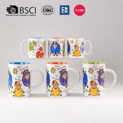 precio de fábrica Cerámica taza de jugo de la Oveja 2pcs para Restaurante