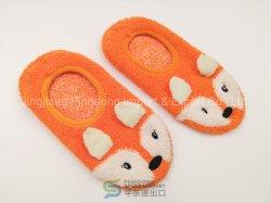 Dibujos animados de moda mayorista zapatilla Non-Slip tejer calcetines mujer medias de los niños en casa&