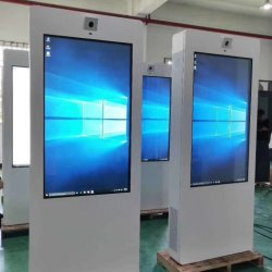Envision schermo pubblicitario LCD da 65 pollici con supporto da pavimento più venduto digitale Chiosco per display LCD impermeabile per esterni con Retroilluminazione LED