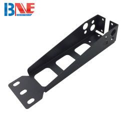 OEM Custom Chapa soporte negro Fabricación