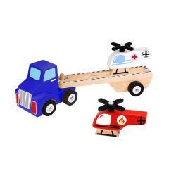 2021 Сделано в Китае Детский игрушки вертолет и перевозчик подарок игрушка