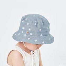 100% algodão Kids Chapéus Chapéus Demin Verão Reservar grossista Imprimir Balde Bebé Hat