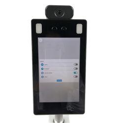 10 '' RK3288 Android 7.0 Toque el dispositivo de seguridad inteligente dispositivo de reconocimiento facial de la temperatura corporal de la máquina integrada