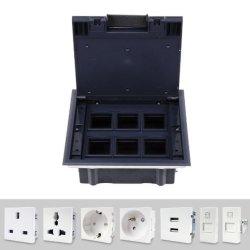 플라스틱 유형 액세스 플로어 박스/플로어 정션 박스/캐비티 플로어 박스