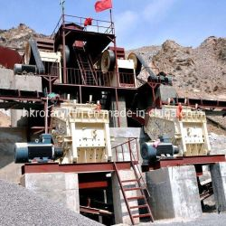 200tph Línea de producción de trituración de piedra