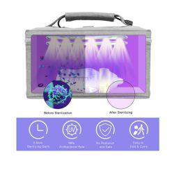 Pacote de desinfecção UV Desinfetante UVC Desinfetante para viagem UV Bolsa-99% Taxa de desinfecção Desinfecção para máscara / luvas / terno / ferramentas de ma