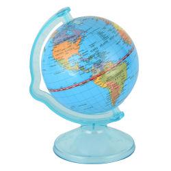 4 بوصة [كين بنك] كرة أرضيّة مصغّرة [موني بوإكس] لعبة كرة أرضيّة لعبة مادّيّة تربويّ