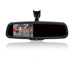 """4.3 """"特別な取付金具が付いているTFT LCDの背面図ミラー車のモニタのビデオ入力"""