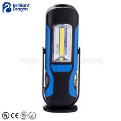 Переносной фонарь рабочего освещения с 6ПК наборы инструментов и 4 режимы работы вспышки, нержавеющая сталь, 360 градусов для Swival, питание от аккумулятора функция рабочего освещения