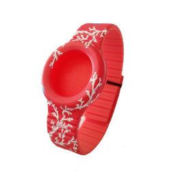 卸し売りカスタムロゴのゴム製シリコーンの時計バンドバンド