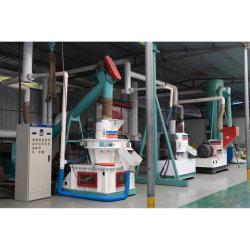 700-1000kgs/H 생물 자원 목제 연료 펠릿을 만들기를 위한 목제 펠릿 선반