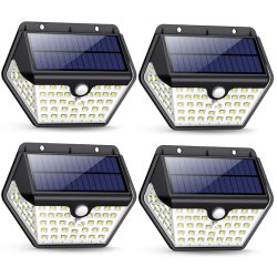 Fabricant de la Chine à l'extérieur du capteur de mouvement en plastique de mur de LED de lumière solaire en dehors des prix bon marché lampe