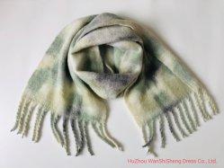 Новые поступления горячая продажа дамы Spray-Painting полированный шерсть шарфы /высокая тепло зимой одеяло Шаль