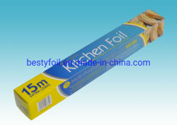 Besty OEM Service Easy clean-up Household Aluminium foil Rolls Wrapping Papier
