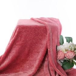 Hochwertige Flanell bedruckte Decke mit Soft Hand fühlen gedruckt Stoff für Baby Decke und Erwachsene zu Hause