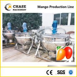 Purée de mangue automatique de la confiture Sauce Usine de fabrication Production de la transformation