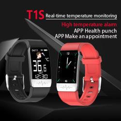 T1s ce gros RoHS Chine Fashion femmes Bracelet cadeau Téléphone numérique watch voyant Bluetooth Mi Sport bande Bracelet en silicone Smart pour les enfants des hommes Fitness GPS tracker