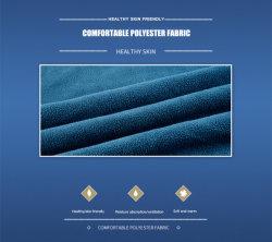 Usine 100%Polyester solide de gros de l'impression couleur recto et recto-verso en molleton polaire