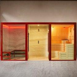 Estilo de la tradición de teclas de vidrio ducha de jardín de la Puerta de Bisagra de la sala de sauna en Polonia