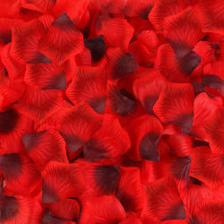 Silk Rose blüht Blumenblätter für Hochzeits-Dekorationen