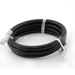 خرطوم مطاطي هيدروليكي عالي الضغط للبيع المباشر En 856 4 س./4 sh مع التركيبات من مصنع خرطوم أوغو