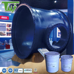 Revestimento epóxi cerâmica personalizado epóxi híbrido para águas residuais industriais