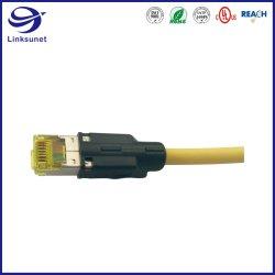 Faisceau de fils de automatique personnalisée avec les connecteurs de prise modulaire de 1 mm
