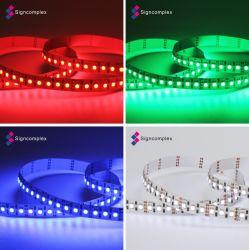 Горячая продажа многоцветный светодиодный RGB гибкие полосы света