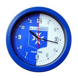 見事なスポーツクラブの昇進のプラスチック柱時計