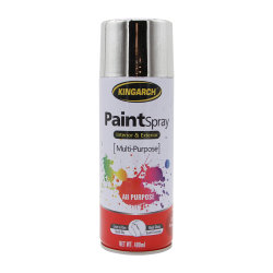 Kingarch Metallic Chrome Effekt Spray Farbe für Stahlbeschichtung heiß REPARATUR DER TAUCHGALVANISIERUNG