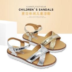 Детские сандалии 2020 25-29# плоские дробь подбор цвета