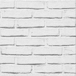 Nouveau 3D en PVC Vinyl de brique de pierre de gros mur d'accueil bon marché Papier/papier peint