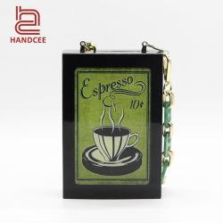 Handcee China Designer Original Nescale Acrylic Bag Clutch