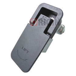 مقبض سوينغ مزلاج الضغط Ms726-1، رفع الزنك وإلغيه قفل لوحة الخزانة