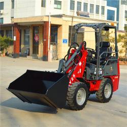 machine de met 4 wielen van de Lader van de Bouw van de Lader van de Tractoren van de Tuin van de Aandrijving Dy25