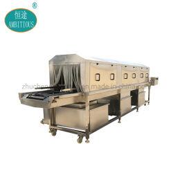 Waschanlage für Industriekorbkisten und Waschmaschine für Paletteneinschub