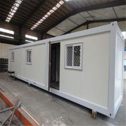 20 FT eenvoudig in elkaar te zetten tijdelijk geprefabriceerd mobiel modulair staal plat pakket Container Prefab House for Office